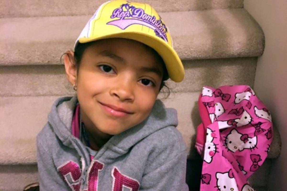 Seven-year-old Aaliyah Rosa was found dead in an apartment in Langley in July. File photo