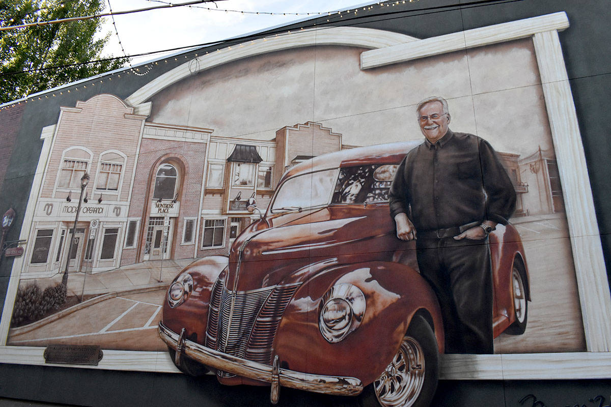 The unapproved words on the Bob Bus mural have now been removed as of Thursday (July 22). (Ben Lypka/Abbotsford News)